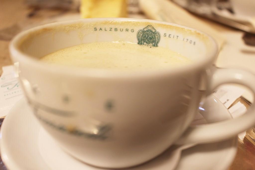 Austria coffee tomaselli